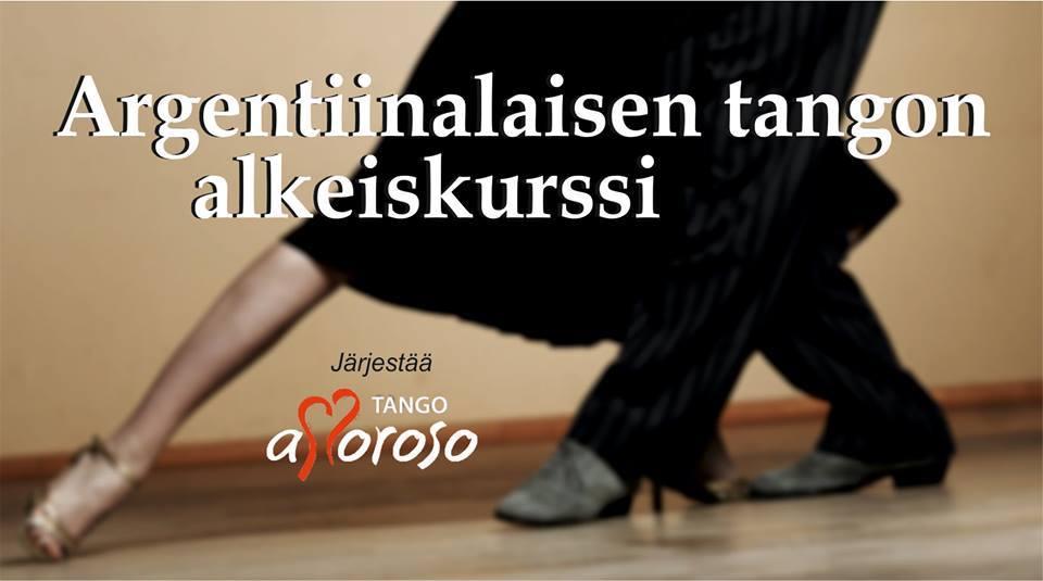 Argentiinalaisen tangon alkeiskurssi mainoskuva